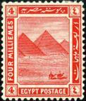iEgypte postzegel piramides