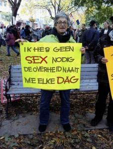 SEX overheid naait