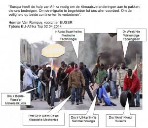 Van rompuy immigratie EU-Afrika top