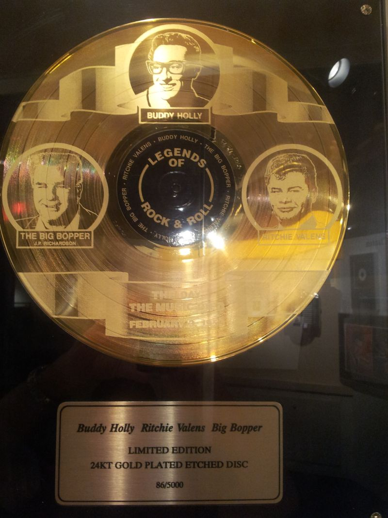 Buddy Holly Ritchie Valens And Big Bopper Limited Edition