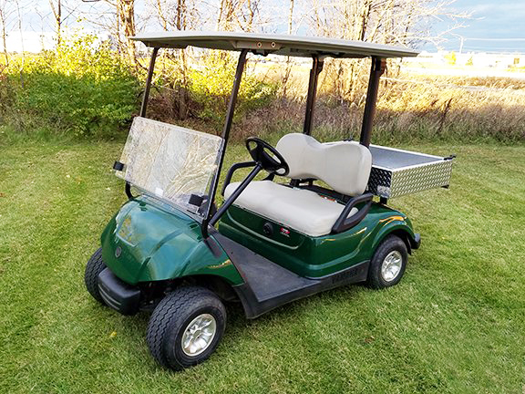 electric utility vehicle 2-seater