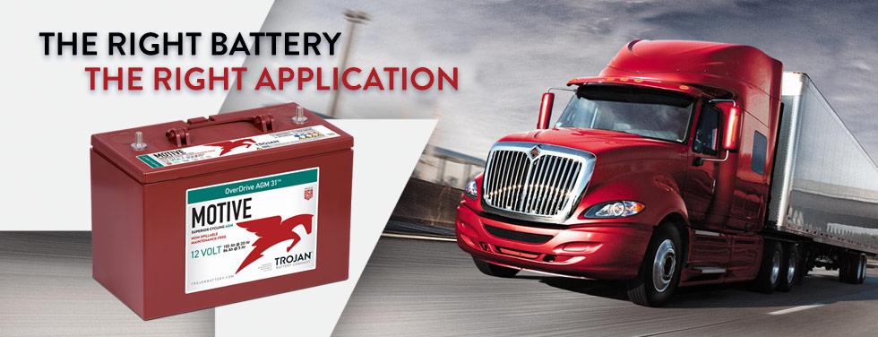 Battery for Transportation