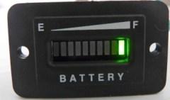 36 volt golf cart battery meter