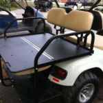 flip golf cart back seat f