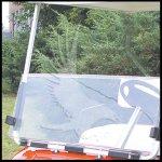 Yamaha Clear golf cart windshield