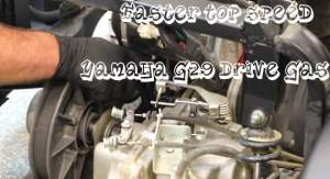 How Get Faster Top Speed Increase on Yamaha G29 Drive Gas Golf Cart By Adjusting Governor