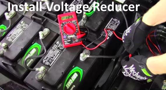How to install 36 or 48 Volt Voltage Reducer?resize\=570%2C310 super night voltage regulator wiring diagram voltage regulator supernight voltage regulator wiring diagram at gsmx.co