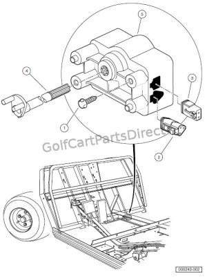 MOTOR CONTROLLER OUTPUT REGULATOR (MCOR)  GolfCartPartsDirect