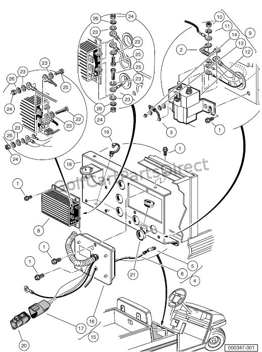 Club Car Precedent 48v Wiring Diagram - Wiring Diagram