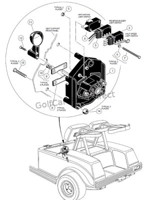 1985 Club Car 36v Wiring Diagram  wiring diagram manual