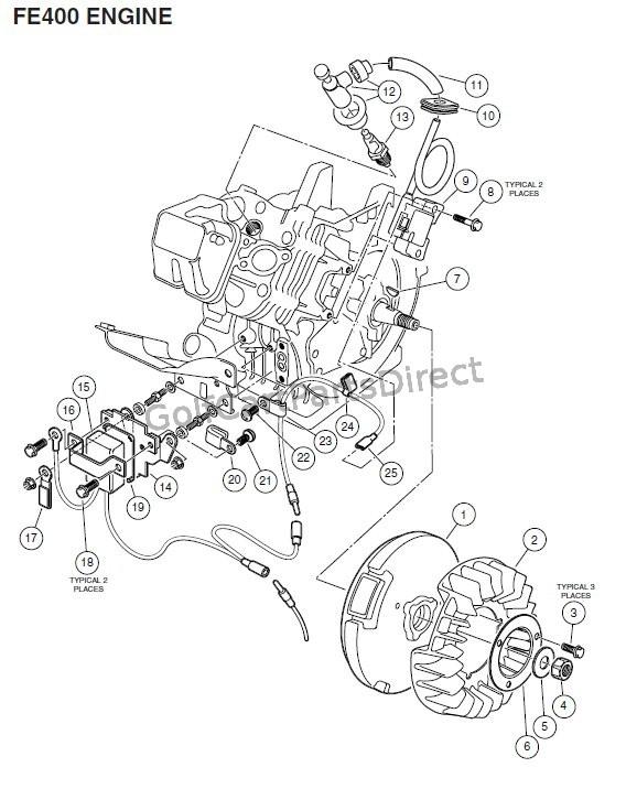 Engine Fe400 Key Start