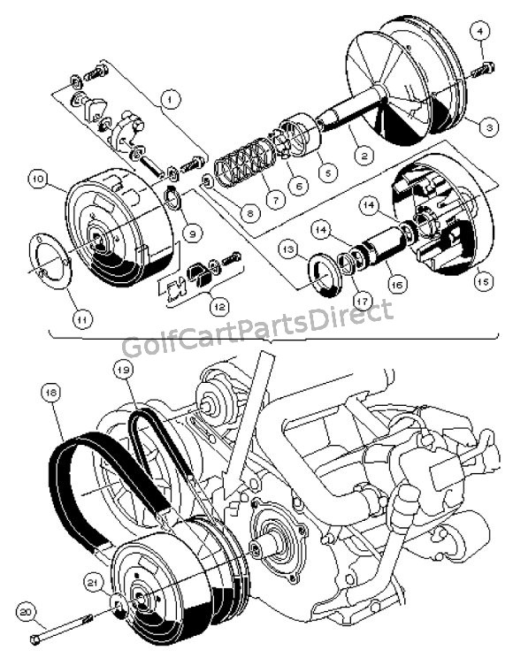Diagram Yamaha Golf Cart G222 Clutch Diagram Jamar Choi Diagram