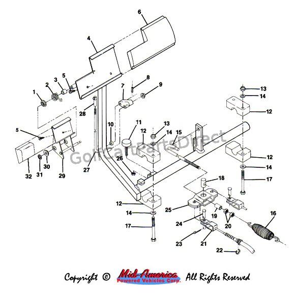 Gas Club Car Ignition System