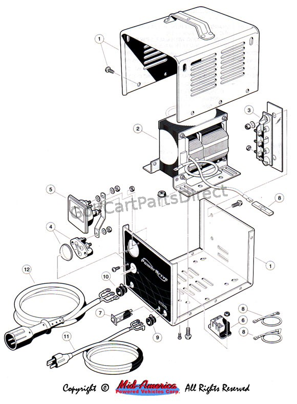 Club Car Battery Wiring Diagram 1992 36 Volt Diagram Base