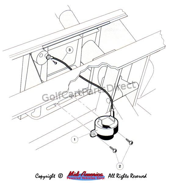 Club car carryall wiring diagram rev