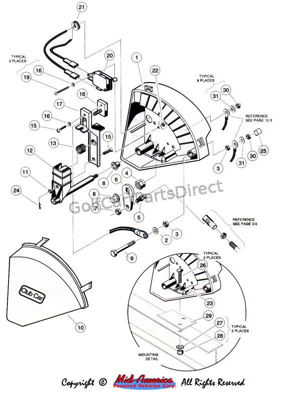 wiring diagram 2001 club car 48 volt  u2013 powerking co