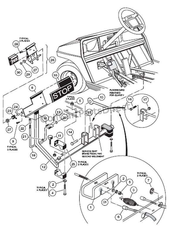 gas club car ignition system