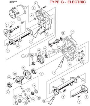 Club Car Rear End Diagram  Wiring Diagram