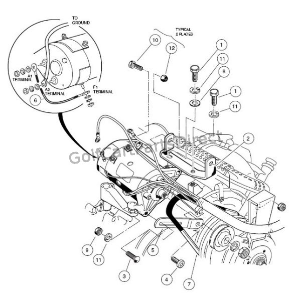Ezgo Golf Cart Solenoid Wiring Diagram