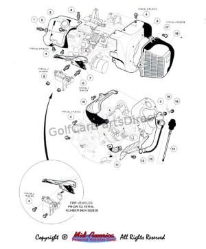 FE 290 Engine I  Club Car parts & accessories