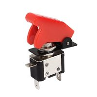 Red LED Lighted Toggle Switch 12V ON OFF Car