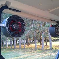 Custom Golf Cart Speakers EZ GO Club Car Yamaha Radio Stereo Pods