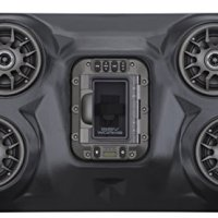 SSV Works WP-RZF3O4 Polaris RZR XP1000 4 Seat BLUETOOTH 4 Speaker Overhead Stereo System