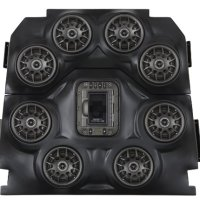 SSV Works WP-JXO8 Polaris RZR Jagged X Edition BLUETOOTH 8 Speaker Overhead Stereo System