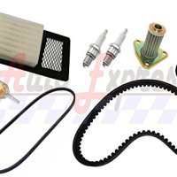 FITS EZGO TXT GOLF CART 94-05 TUNE UP KIT AIR OIL FILTER DRIVE & GENERATOR BELTS REPLACEMENT