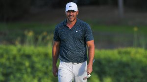 Masters 2021: Brooks Koepka was spotted at the training ground on Sunday in Augusta National