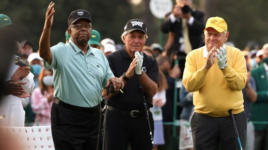 2021 Masters: Emotional Lee Elder joins Gary Player, Jack Nicklaus on his first Masters title