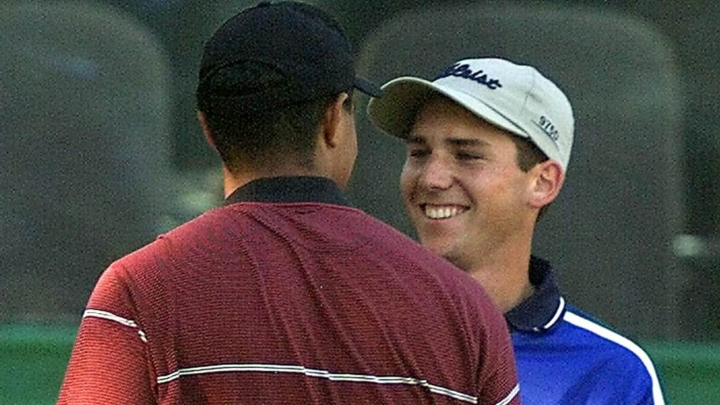 Tiger Woods and Sergio Garcia