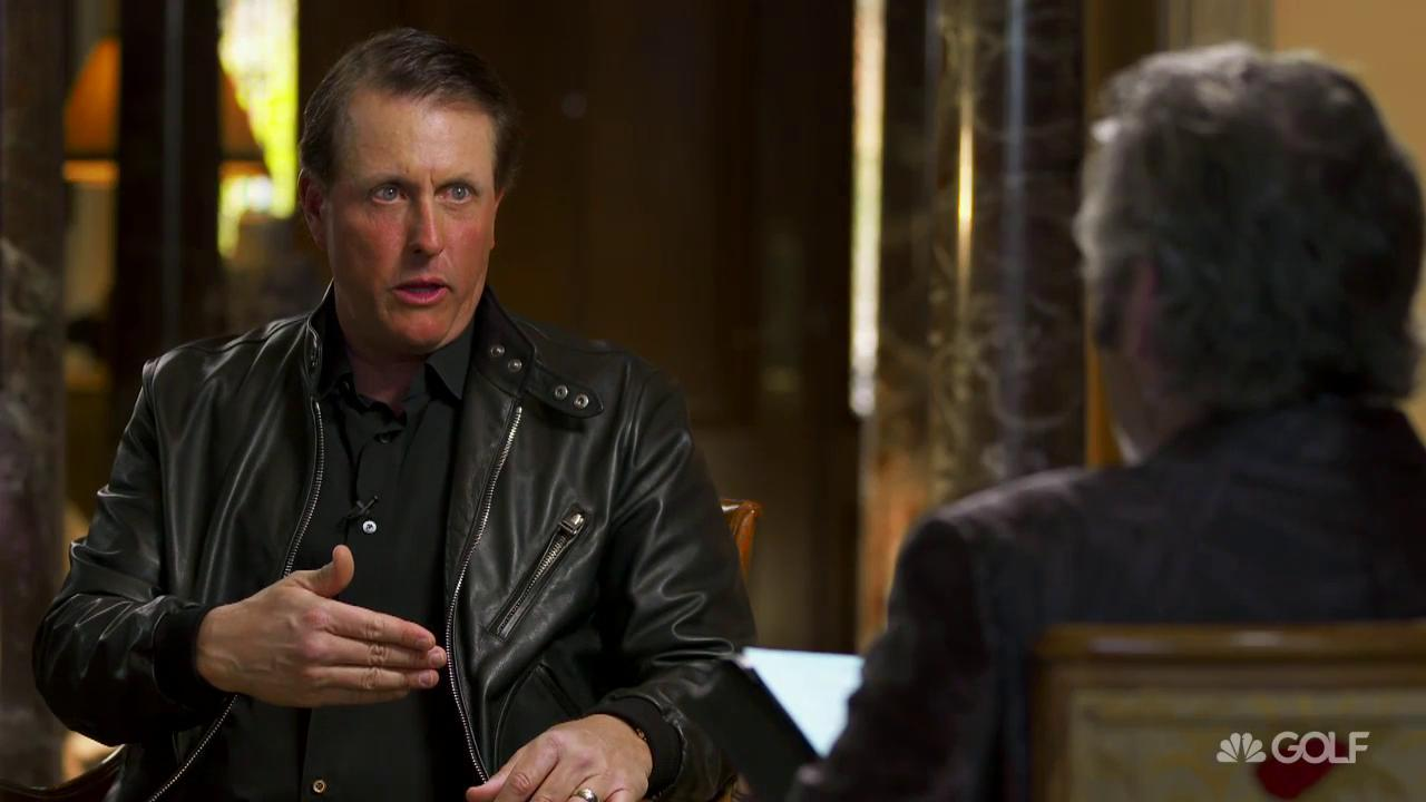 Image result for phil mickelson leather coat image