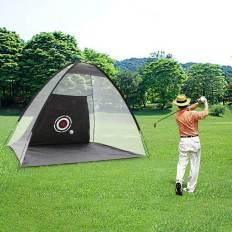 La maison sur herbe nous aide à jouer autrement. Le champ de golf a changé cet hiver et deviendra une autre g façon de se préparer au jeu