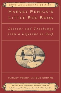harvey penick little red book best golf instruction books