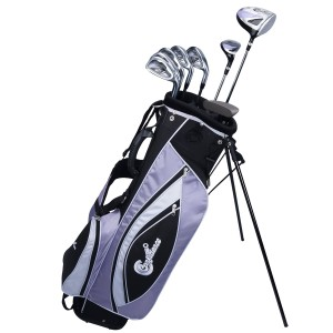 Confidence Golf Lady Power Hybrid Club Set and Stand Bag