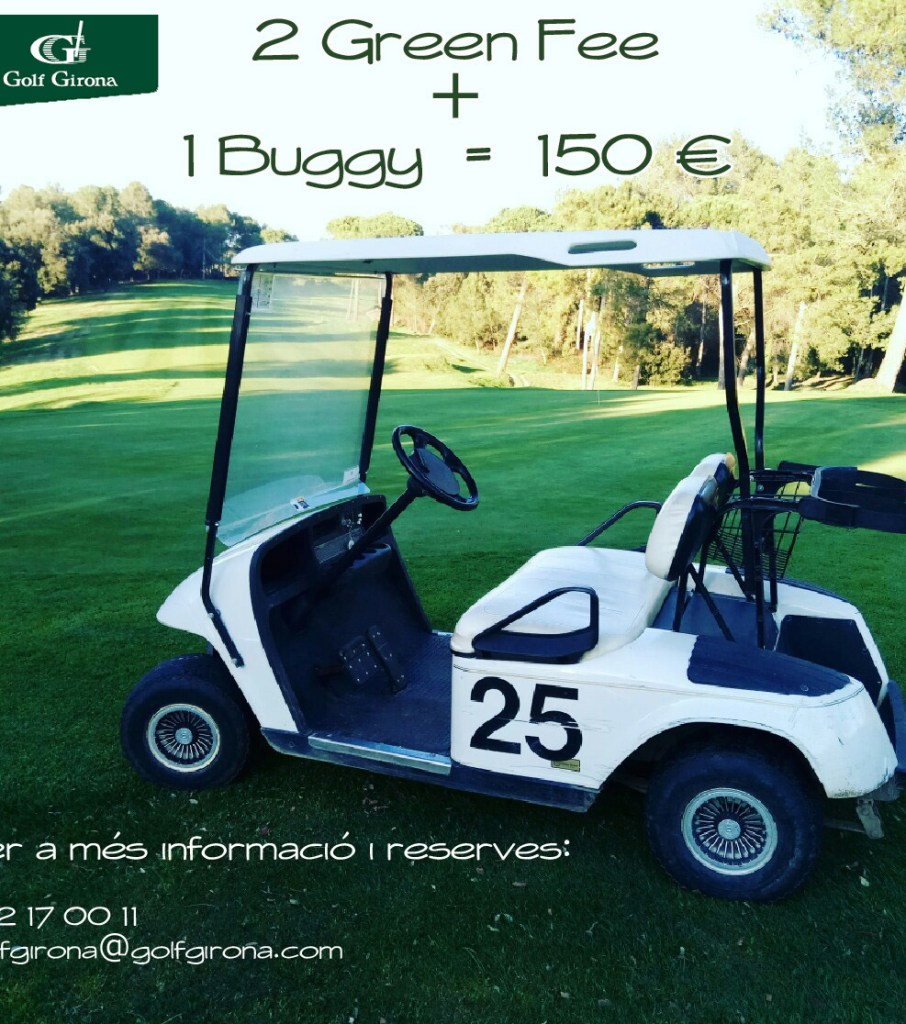 2GF+buggy=150€ CAT