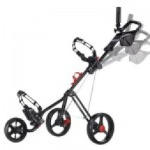 motorized golf push cart