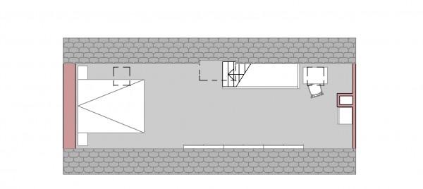 Grundriss vom Dachgeschoss