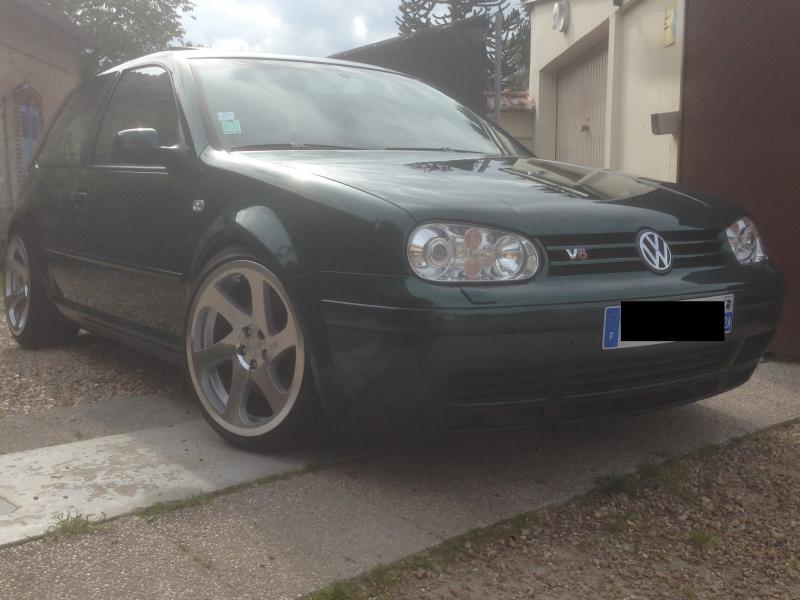 VW Golf IV V6 Carat Vert Bouteille Garage Des Golf IV