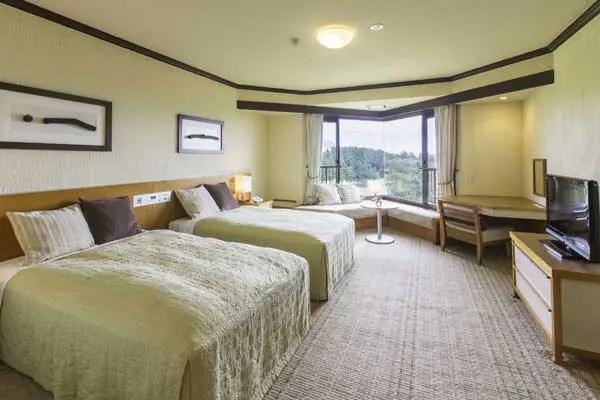 ホテル・ラフォーレリゾート修善寺の部屋