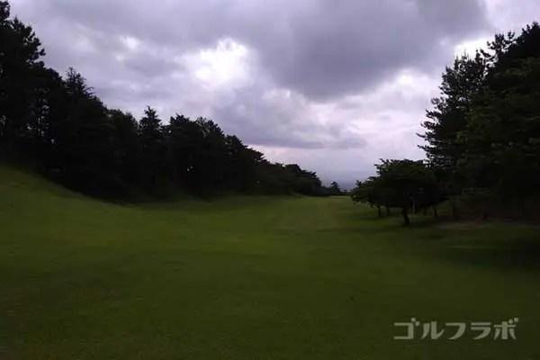 沼津ゴルフクラブの伊豆2ホールのレディースティ