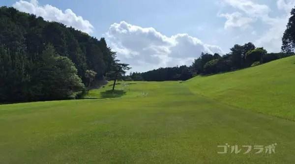 沼津ゴルフクラブの駿河3ホールの2打目