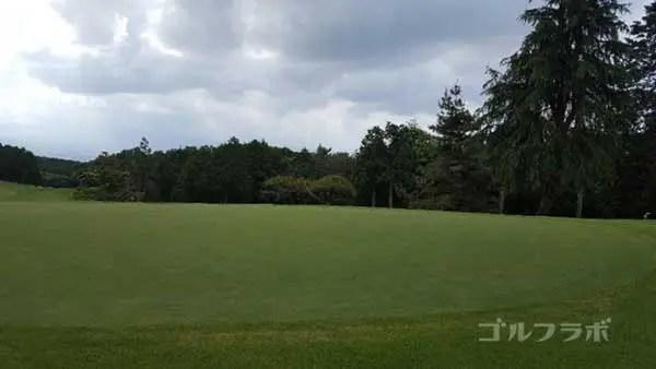 沼津ゴルフクラブの駿河6ホールのグリーン