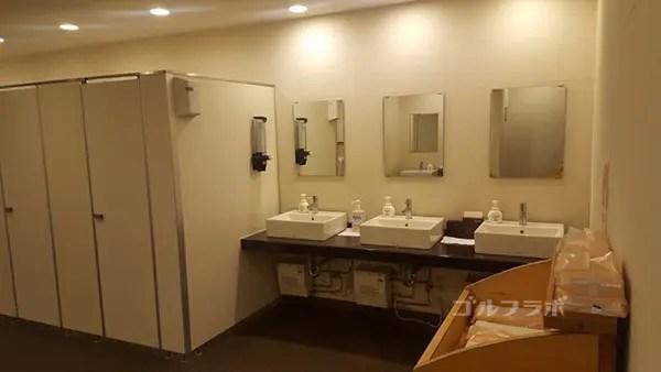 コスモクラシッククラブの洗面所