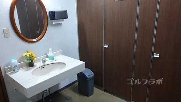 アタックゴルフ市原のトイレ