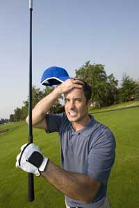 Frustrated Golfer
