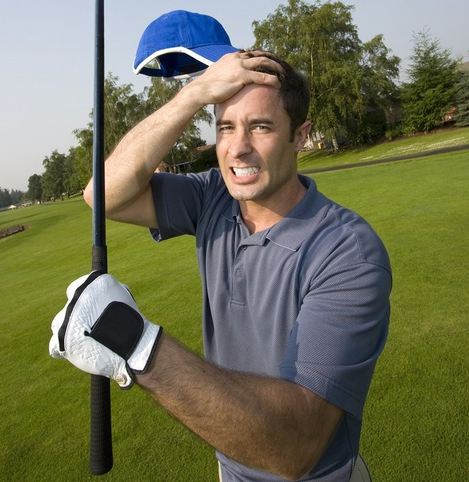 How To Keep Calm After A Bad Golf Shot