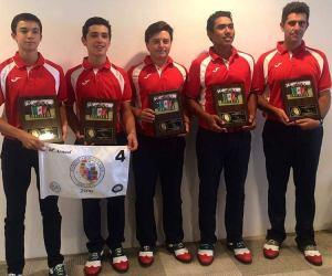 Felicitaciones a Rudolfo Pérez Ramos y Alejandro Madariaga Couttolenc