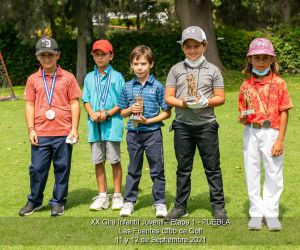 XX Gira Infantil Juvenil – Etapa 1 – Las Fuentes Club de Golf